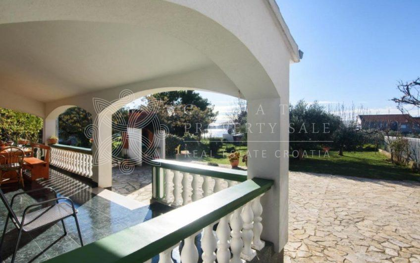 Croatia Zadar Riviera Waterfront house in greenery for sale