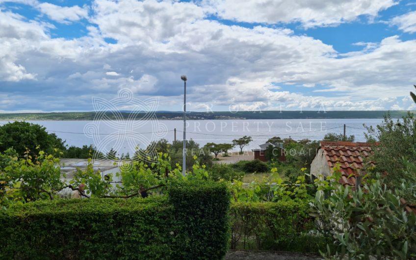 Croatia Zadar Posedarje area seaside house for sale with panoramic sea view