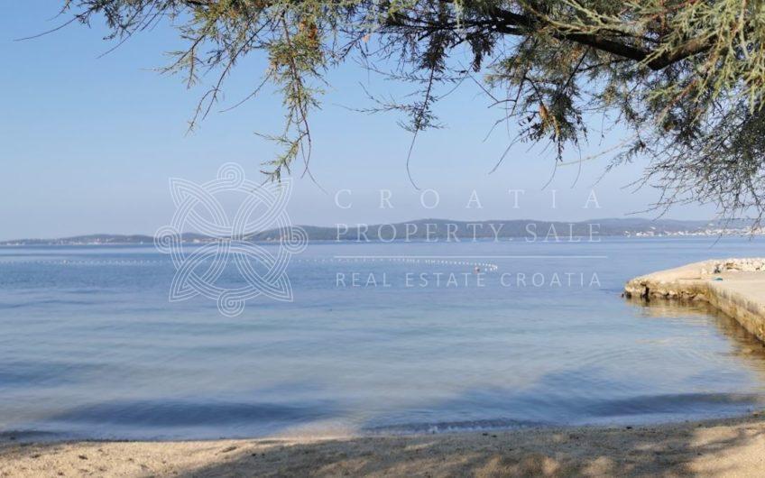 Croatia Zadar area seafront semidetached large house for sale